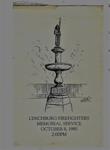 Firefighters Memorial, Lynchburg 001