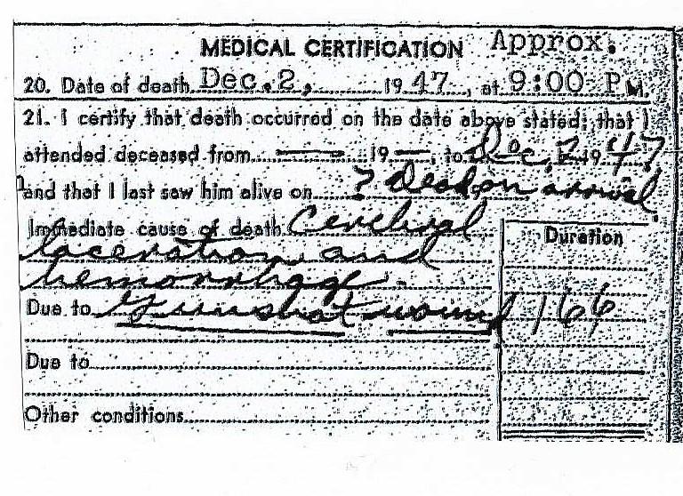 AShlin, Dewey cause of death 001