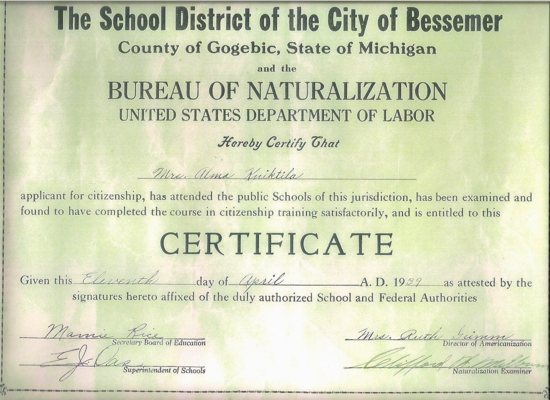 Alma naturalization cert 001