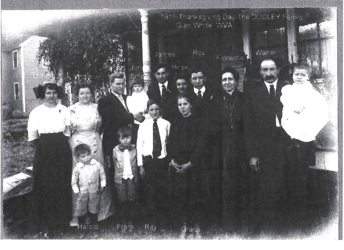 Dudley, Walter family 1915 001