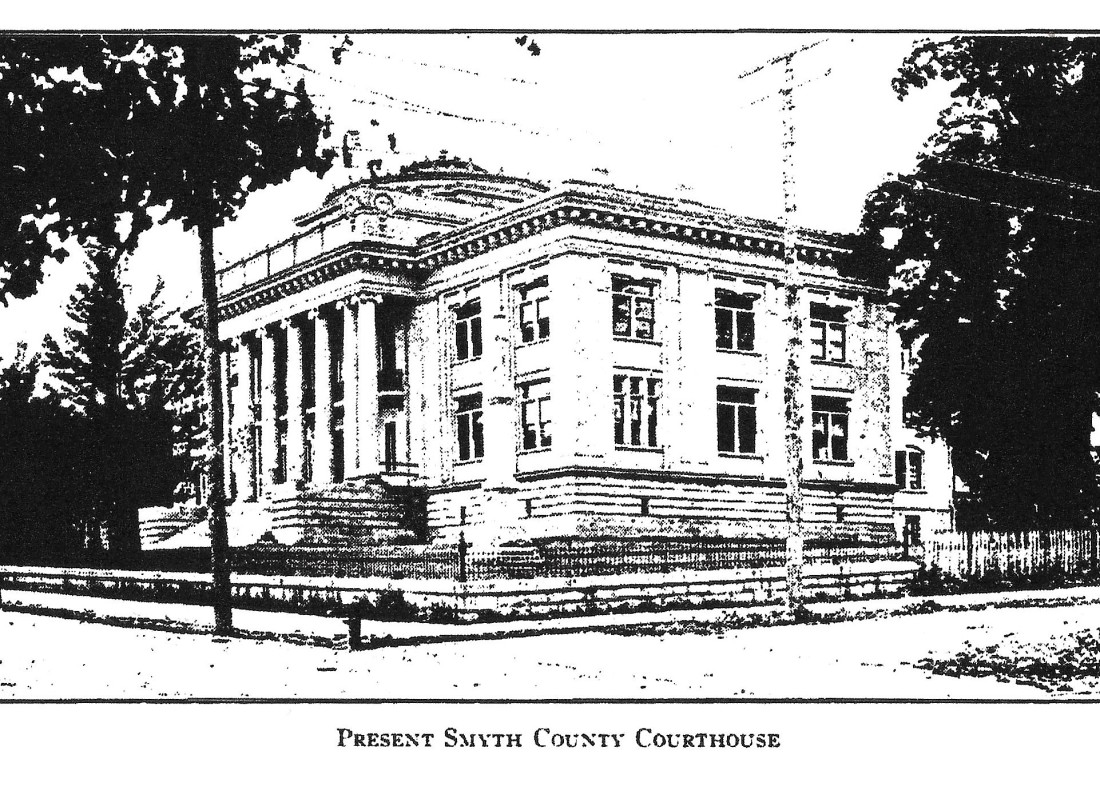 Smyth County Courthouse - present - Thomas 001