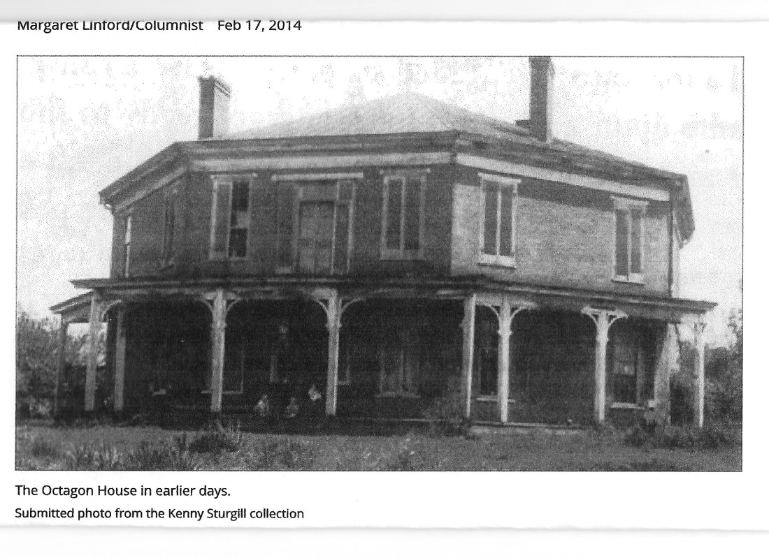 Thomas, Abijah, Octagon house, earlier days 001