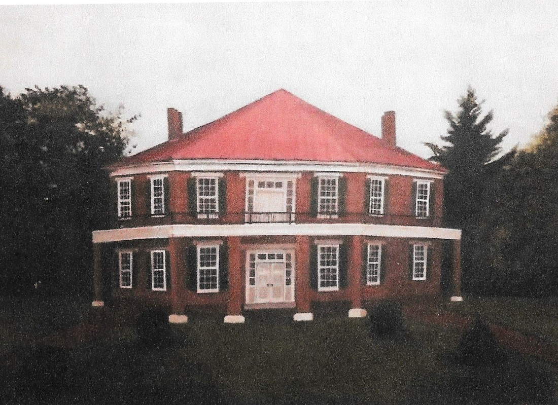 Thomas, Abijah, Octagon house, restoration plan 001