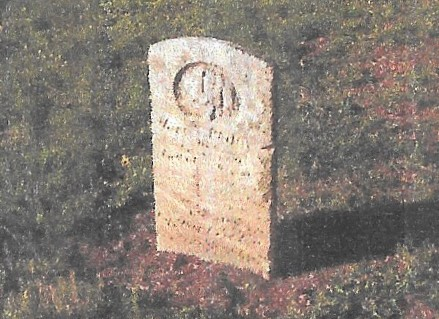 Phillips, Capt Ben, grave, 1863, Lynchburg VA 001