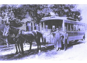 Horse drawn trolley VA 001