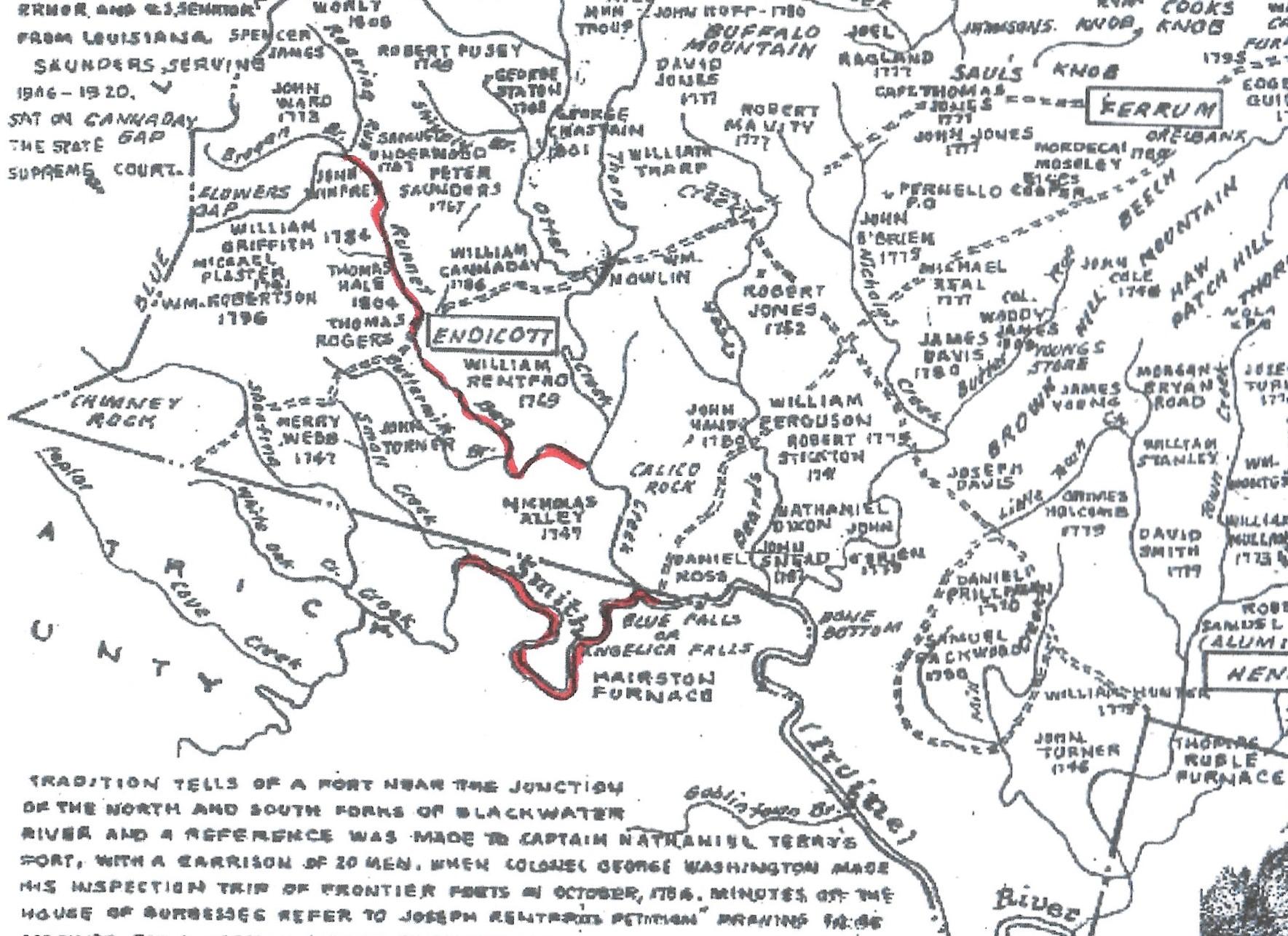 James, Spencer, map of land 001